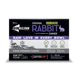 Iron Will Raw Iron Will Original Rabbit Dinner 6lb Box