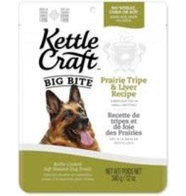 Kettle Craft K.C. Dog - Prairie Tripe & Liver - big bite 340g