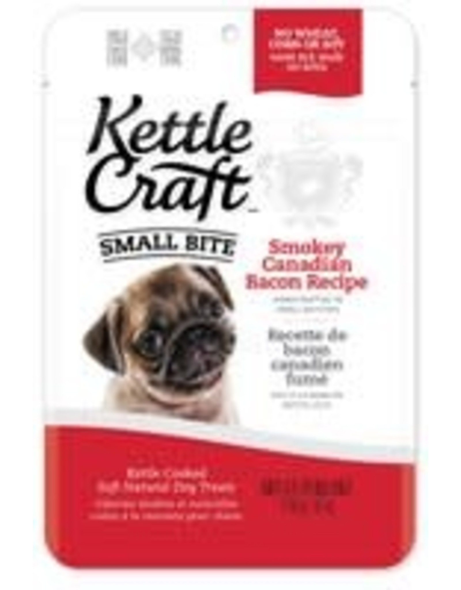 Kettle Craft K.C. Dog - Smokey Canadian Bacon -small bite 170g