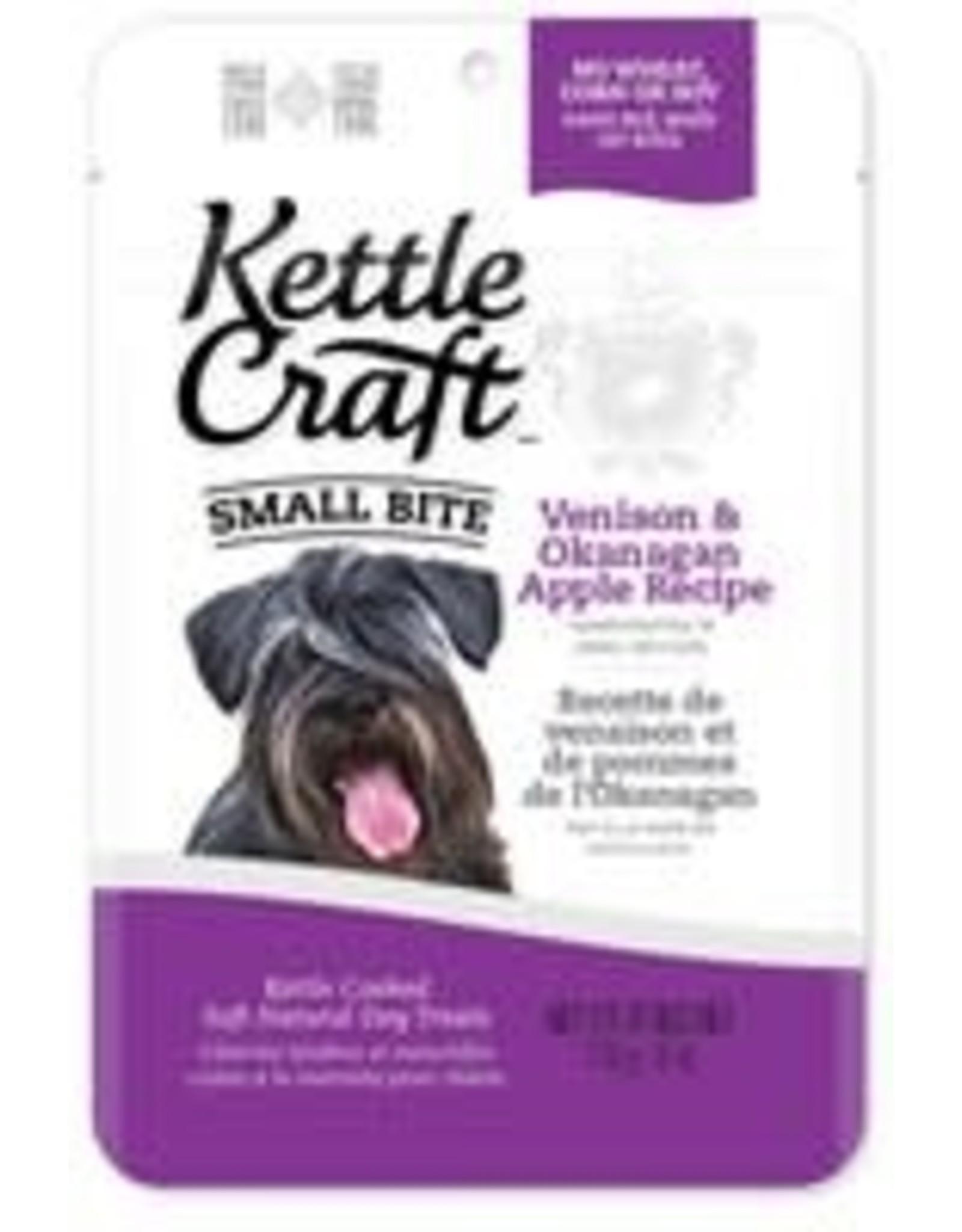 Kettle Craft K.C. Dog - Venison & Okanagan Apple - small bite 170g