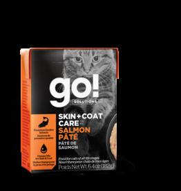 GO! GO! TetraPak Cat Skin + Coat Salmon Pate 6.4oz