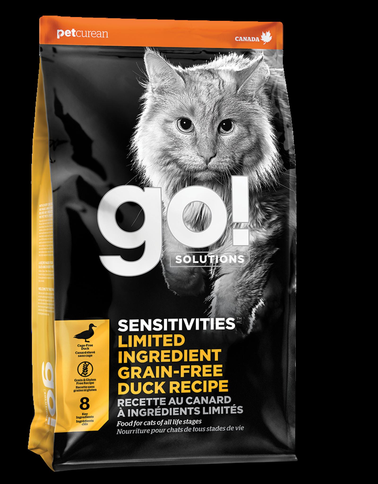 GO! GO! LID CAT GF Duck 3lb