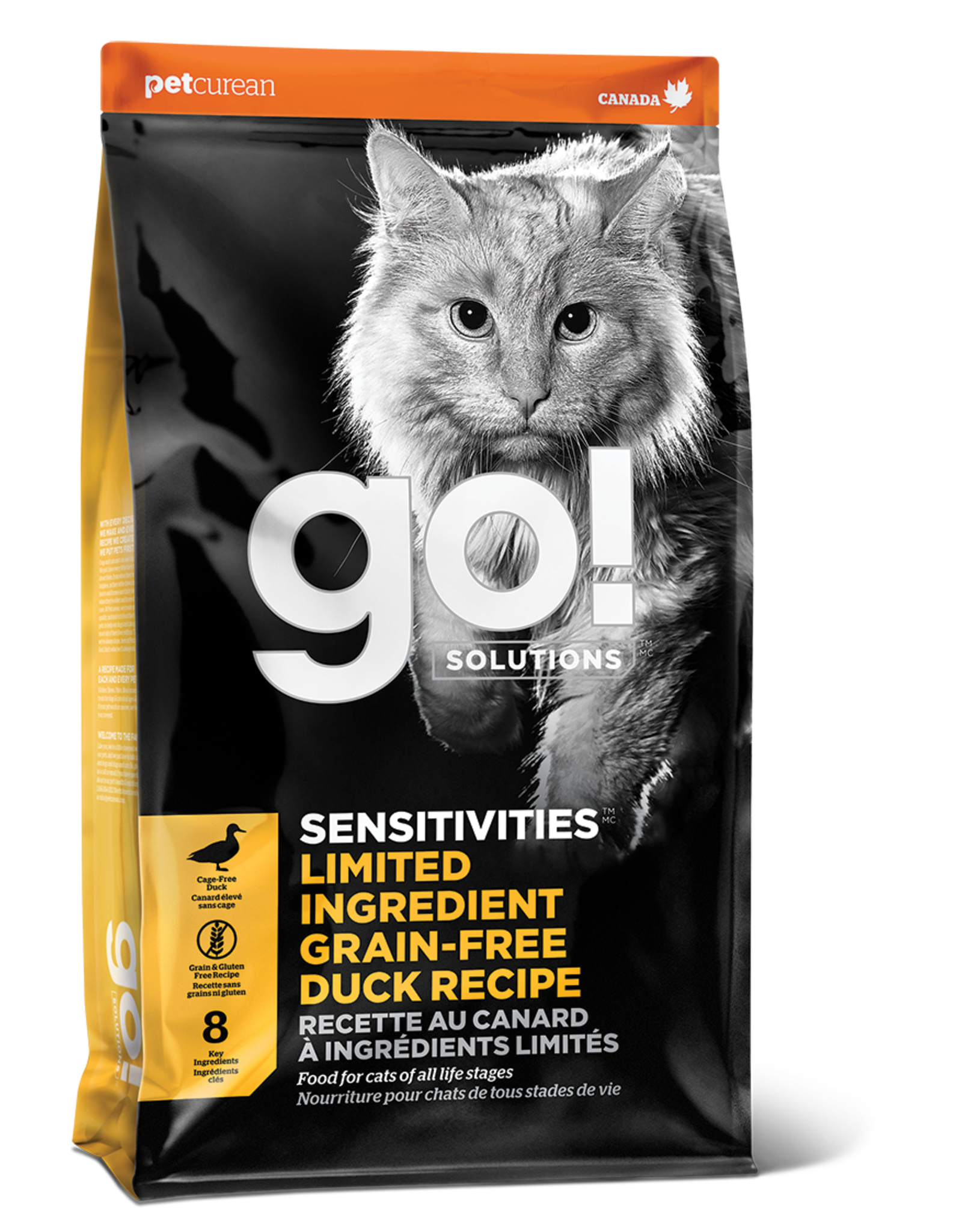 Go! GO! LID CAT GF Duck 8lb