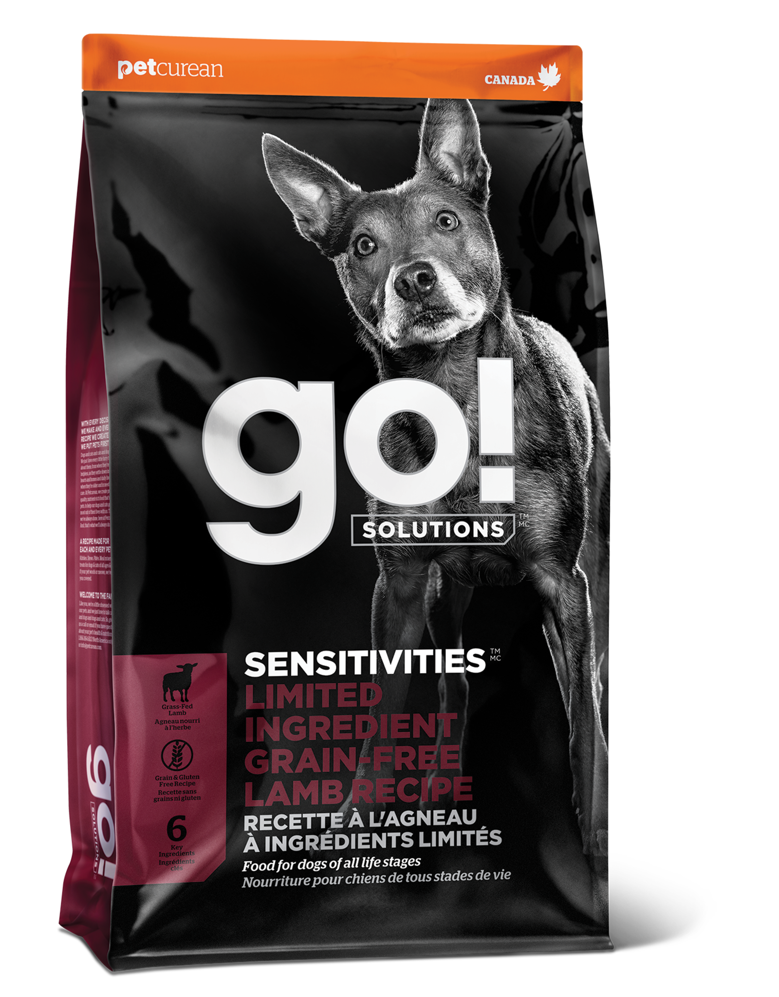 Go! GO! LID Lamb for Dogs 22lb