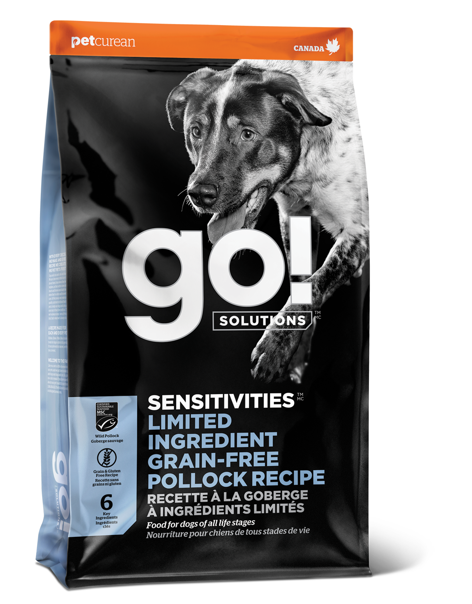 GO! GO! LID Pollock for Dogs 3.5lb