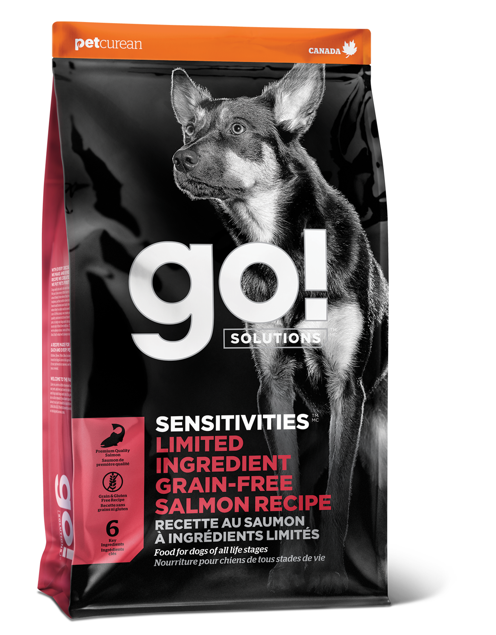 GO! GO! LID Salmon for Dogs 12lb