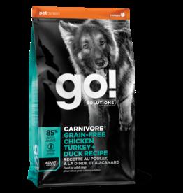 GO! Go! Carnivore DOG GF ADULT Chicken, Turkey, Duck 22lb