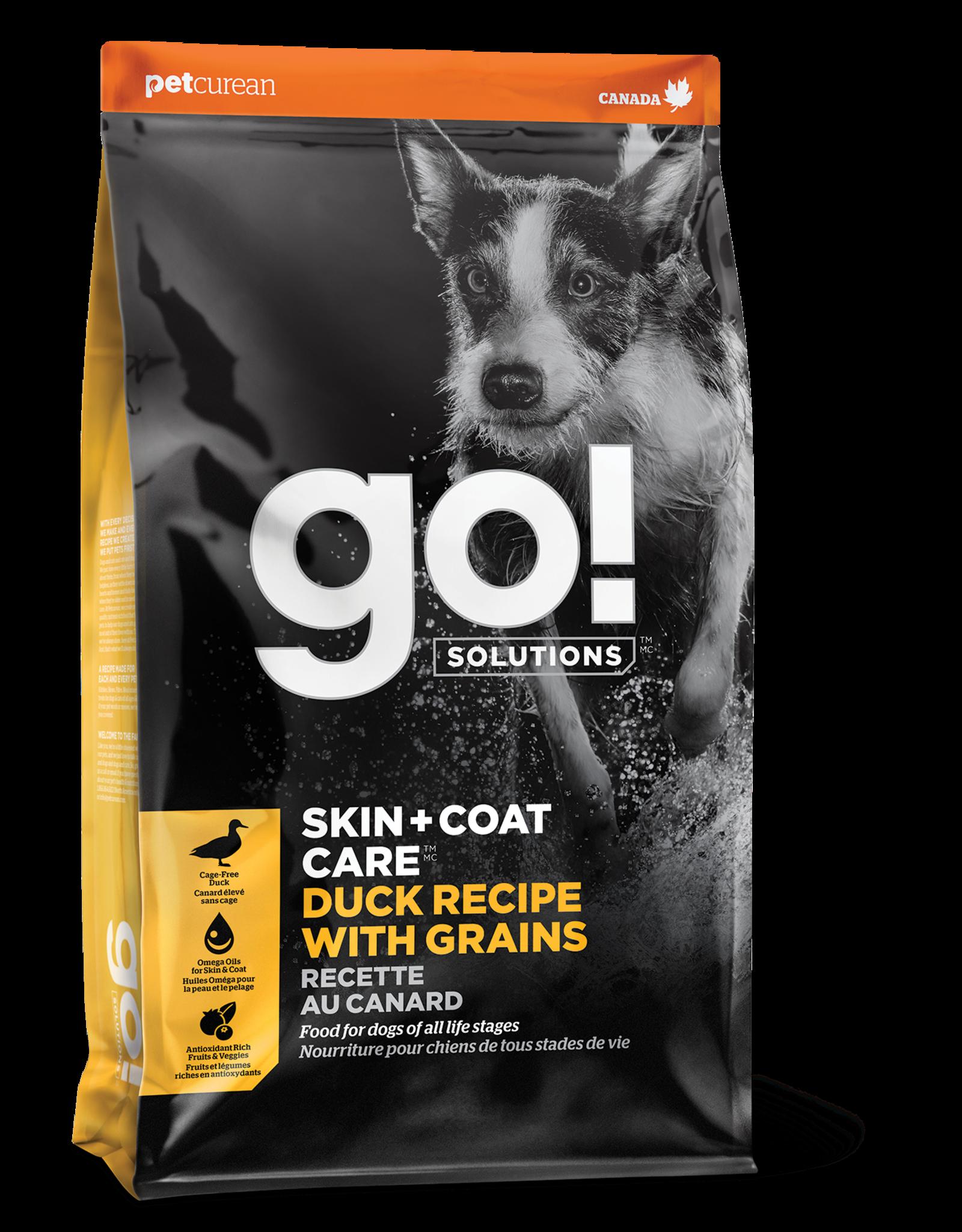 GO! GO! Skin + Coat Duck for Dogs 25lb
