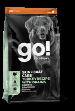 GO! GO! Skin + Coat Turkey for Dogs 25lb