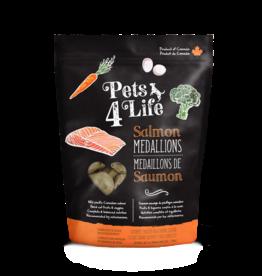 Pets4Life Pets4Life DOG 3lb Pouch - 1oz Medallions - Salmon