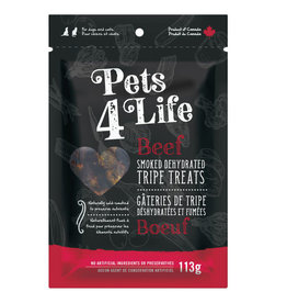 Pets4Life Pets4Life Smoked Dehydrated Beef Tripe Bits 150g