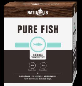NATURAWLS Naturawls DOG - FROZEN RAW -  Pure Salmon & Trout 6lbs (12x227g)