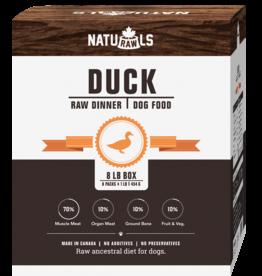 NATURAWLS Naturawls DOG - FROZEN RAW - Duck w. Veggies 8 x 1lb
