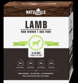 NATURAWLS Naturawls DOG - FROZEN RAW - Lamb w. Veggies 8 x 1lb