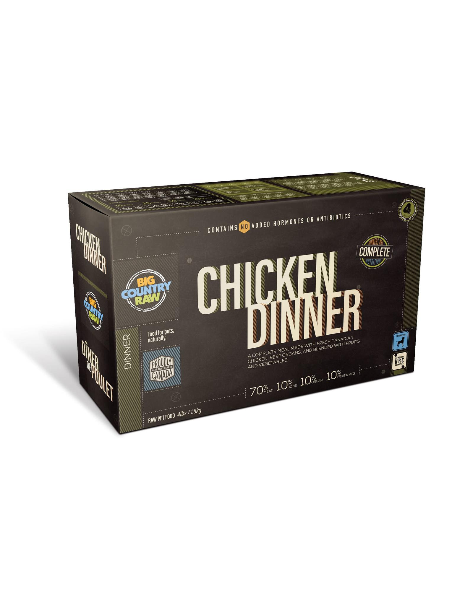 BCR BCR CARTON - 4x1lb - Chicken Dinner