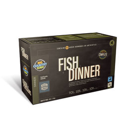 BCR BCR CARTON - 4x1lb - Fish Dinner