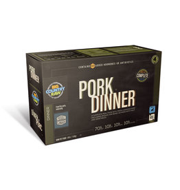 Big Country Raw BCR CARTON - 4x1lb - Pork Dinner