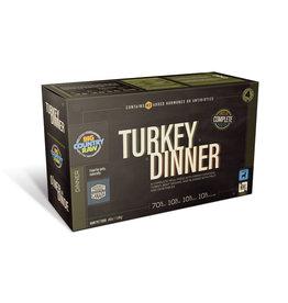 Big Country Raw BCR CARTON - 4x1lb - Turkey Dinner