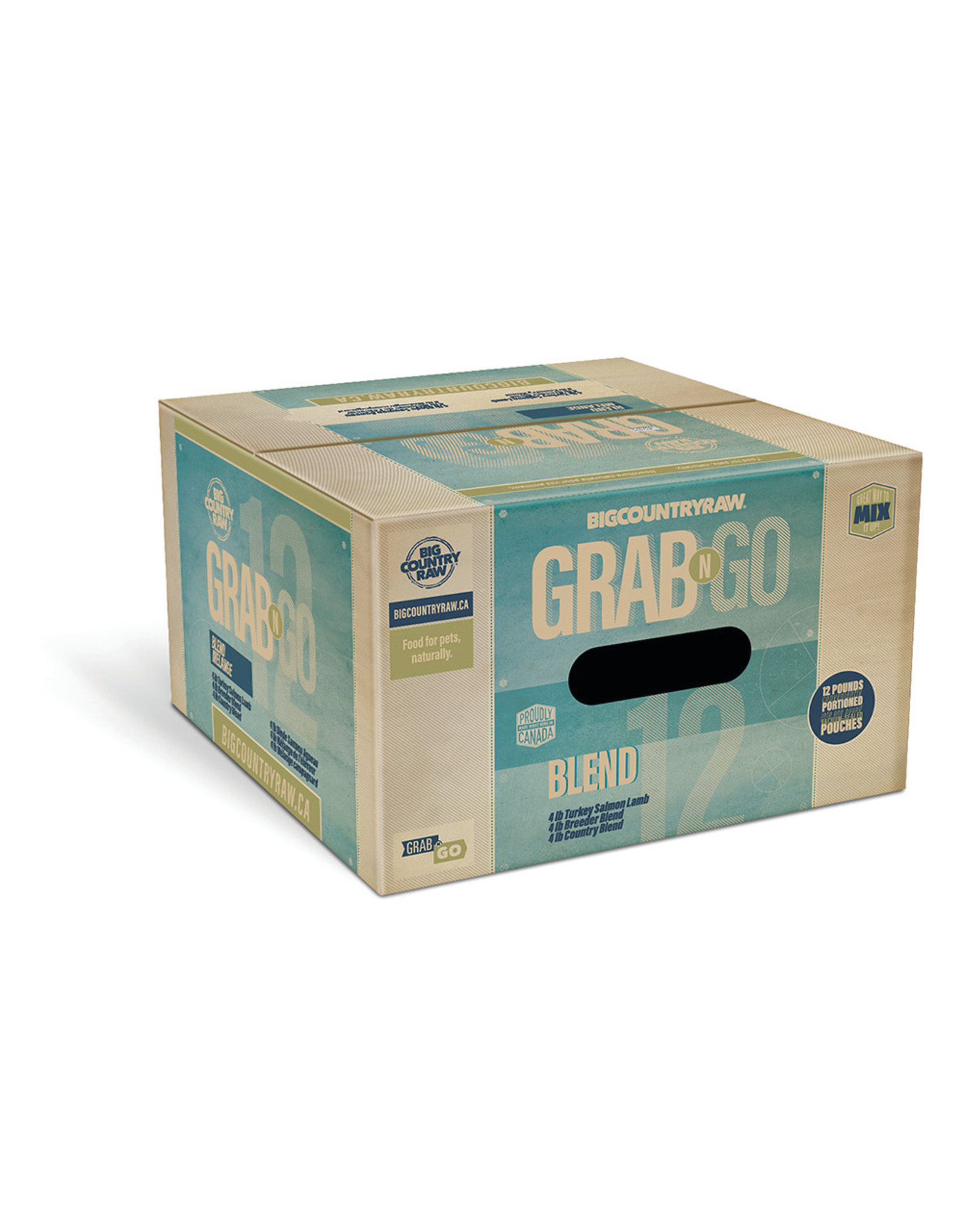 BCR BCR 12lb Mini Grab N Go Blend Deal