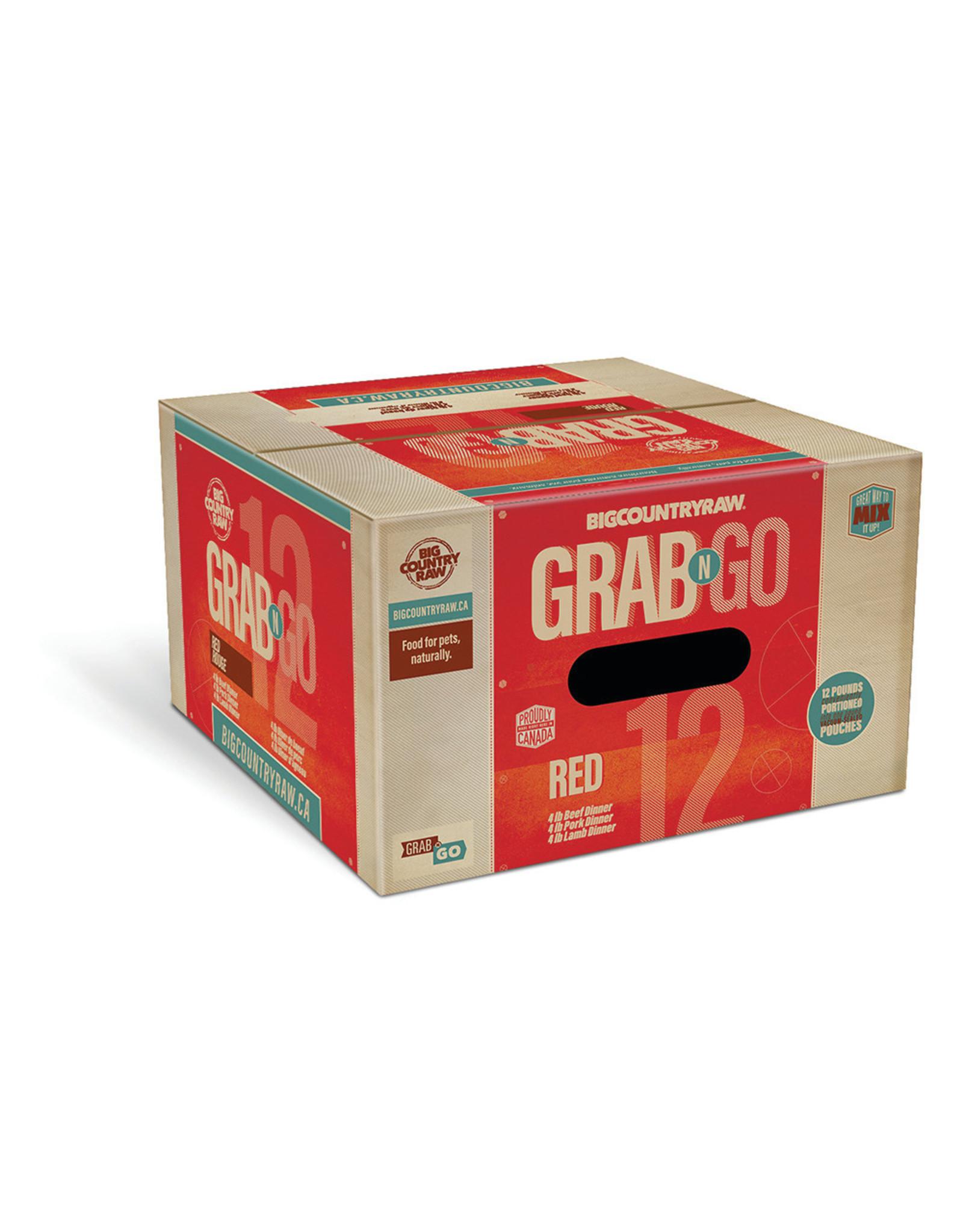 Big Country Raw BCR 12lb Mini Grab N Go Red Deal