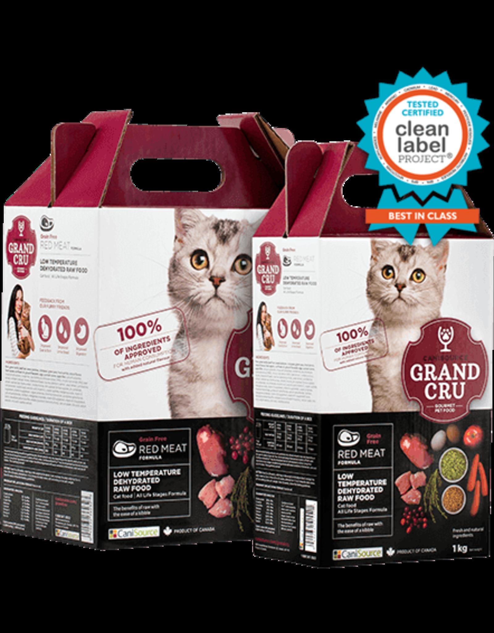 Canisource Canisource CAT GrandCru Red Meat 1kg