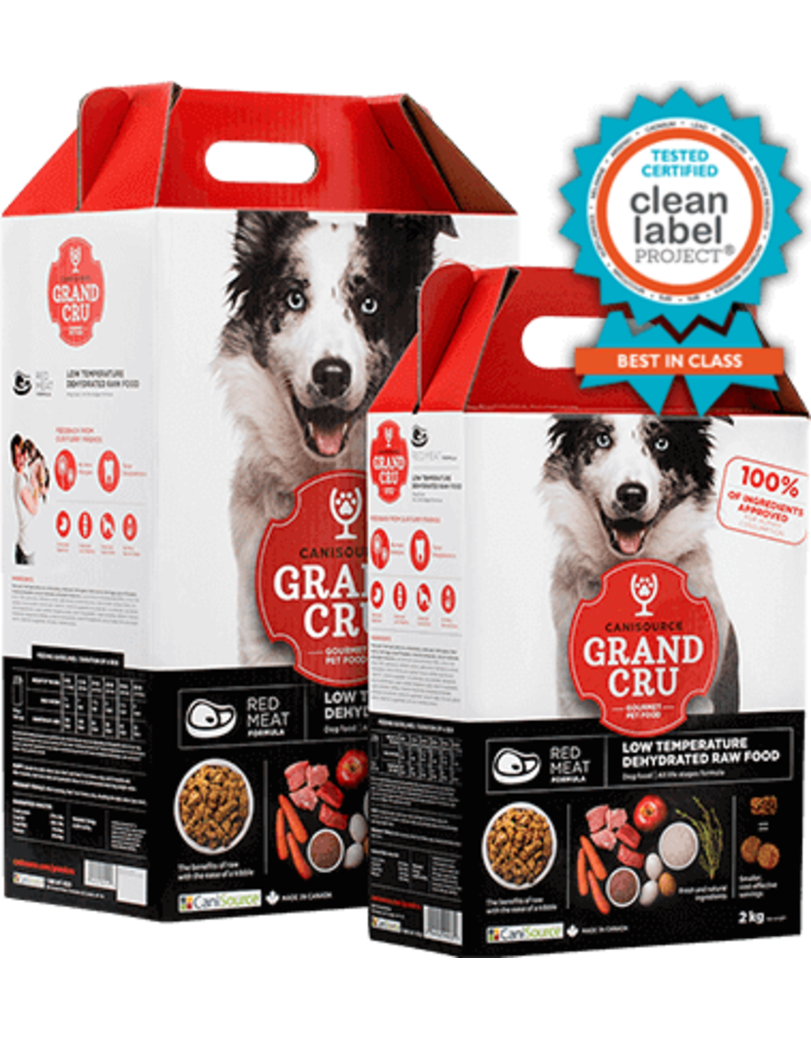 Canisource Canisource DOG GrandCru Red Meat 2kg