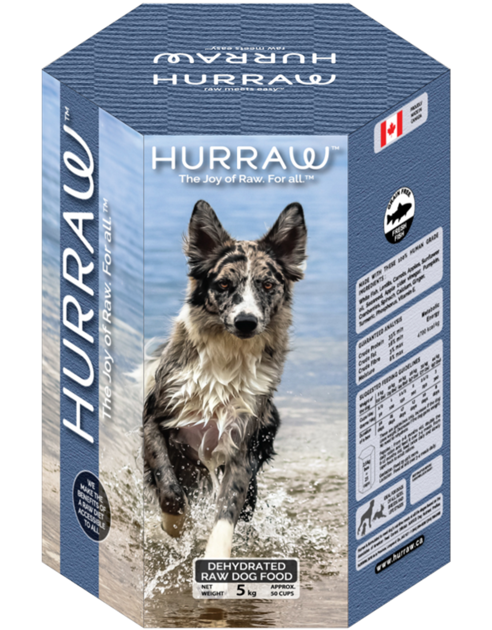 HURRAW HURRAW Fish for Dogs 10kg (blue)