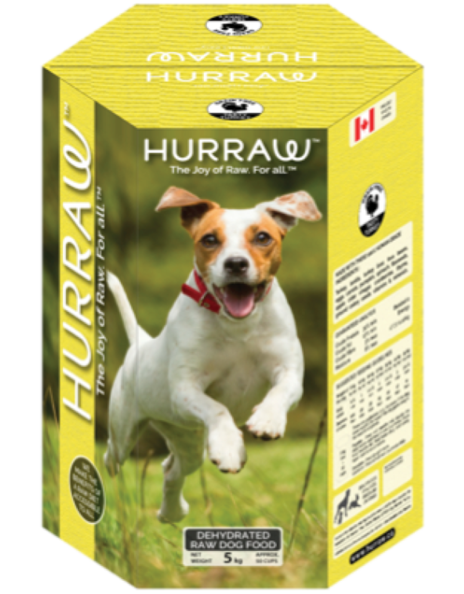 HURRAW HURRAW Turkey for Dogs 10kg (yellow)