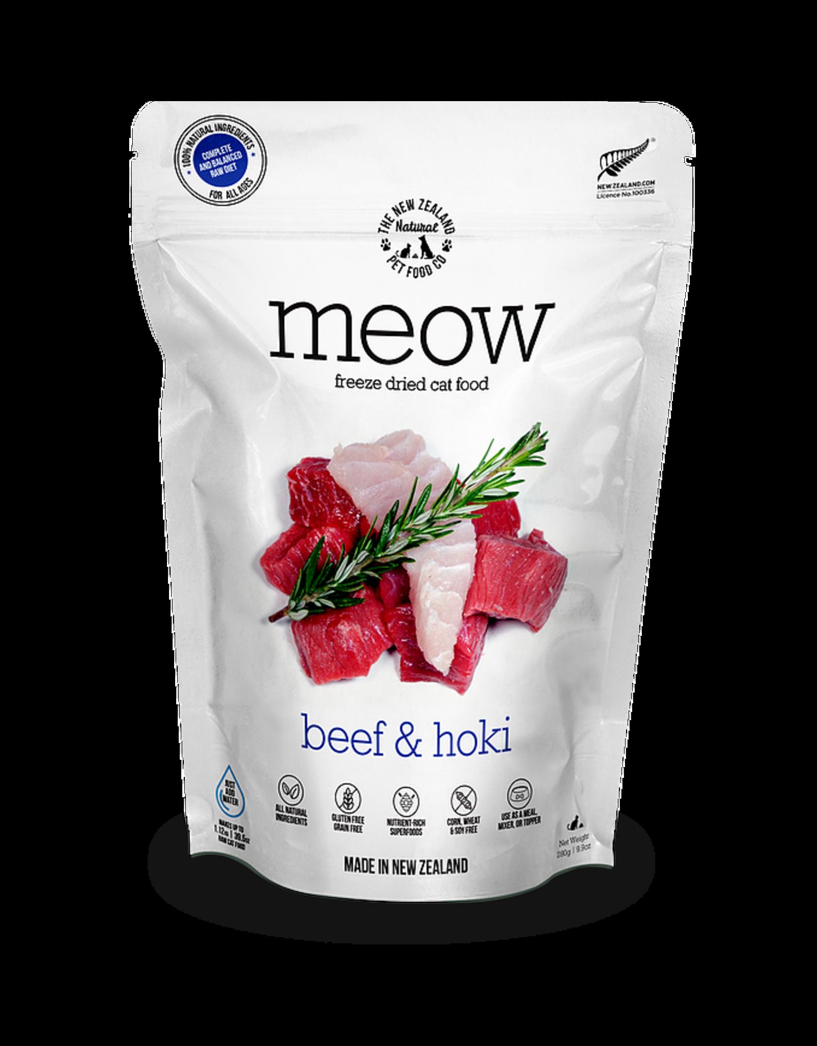 New Zealand Pet Food Co. NewZealand PetFoodCo - MEOW Beef & Hoki 280g