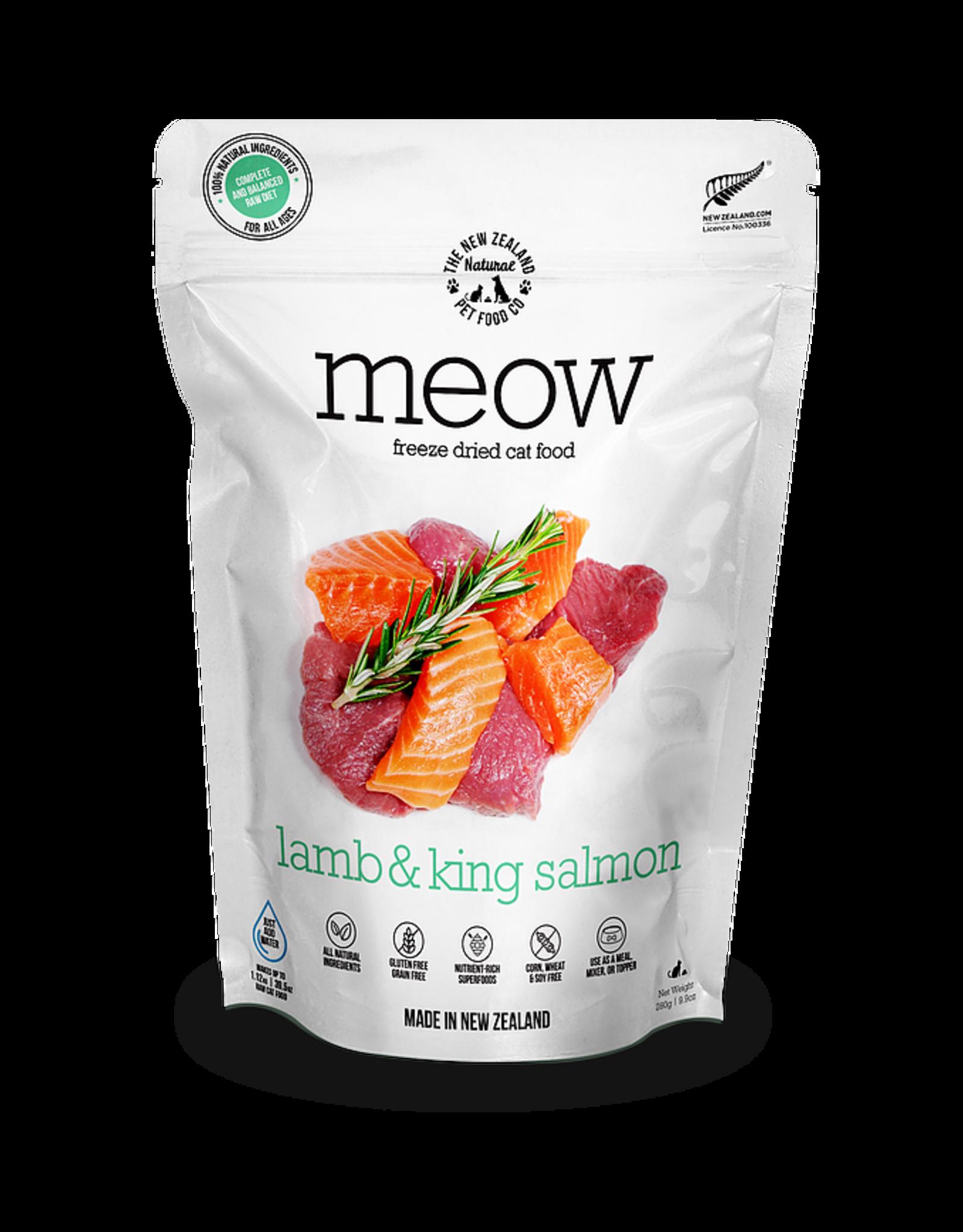 New Zealand Pet Food Co. NewZealand PetFoodCo - MEOW Lamb & Salmon 50g