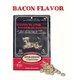 Oven Baked Tradition OBT DOG TREATS Soft&Chewy - Bacon 8oz