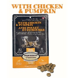OBT OBT DOG TREATS Soft&Chewy - Chicken & Pumpkin 8oz