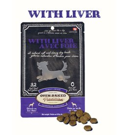 Oven Baked Tradition OBT DOG TREATS Soft&Chewy - Liver 8oz