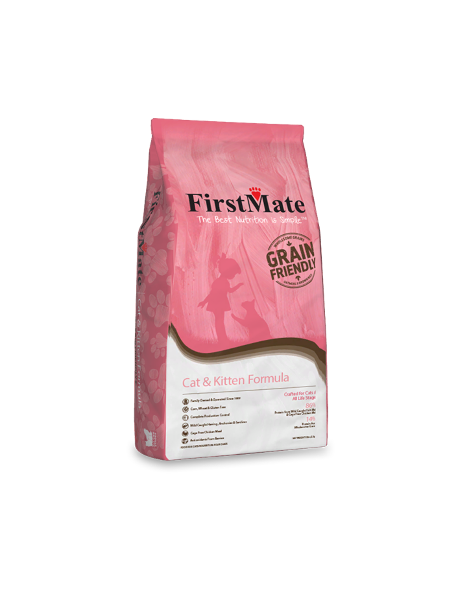 FirstMate FirstMate GrainFriendly CAT & Kitten 2.3kg