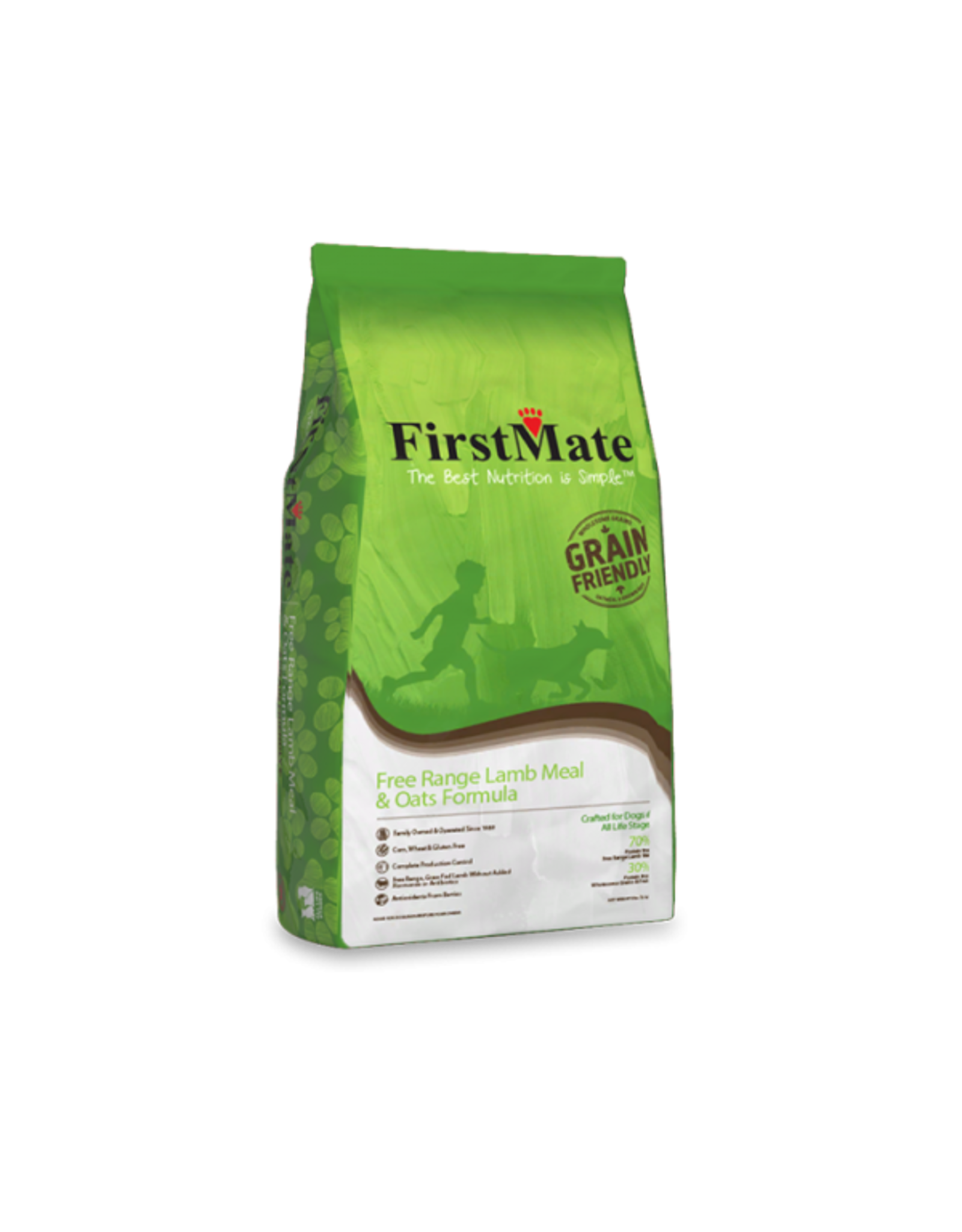FirstMate FirstMate GrainFriendly DOG 11kg - Lamb