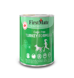 FirstMate FirstMate GrainFriendly DOG CAN Turkey w/Rice 345g