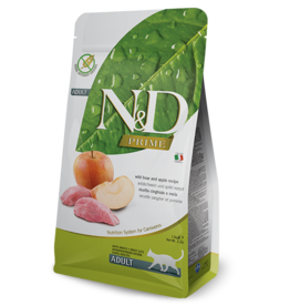 NAtural&Delicious N&D CAT Boar & Apple ADULT 3.3lb