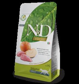 Natural+Delicious (farmina) N+D CAT Boar & Apple ADULT 3.3lb