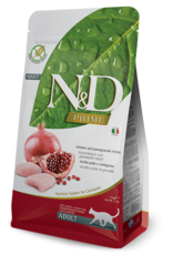 NAtural&Delicious N&D CAT Chicken & Pomegranite ADULT 3.3lb