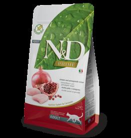 Natural+Delicious (farmina) N+D CAT Chicken & Pomergranate ADULT 11lb