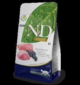 Natural+Delicious (farmina) N+D CAT Lamb & Blueberry ADULT 11lb