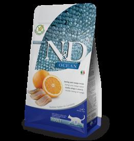 Natural+Delicious (farmina) N+D CAT Ocean Herring & Orange 3.3lb