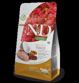 NAtural&Delicious N&D CAT Quinoa - Skin+Coat Quail Dry Food 3.3lb