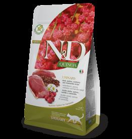 Natural+Delicious (farmina) N+D CAT Quinoa - URINARY Duck Dry Food 3.3lb