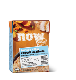 NOW NOW TetraPak Cat GF Turkey Stew 6.4oz