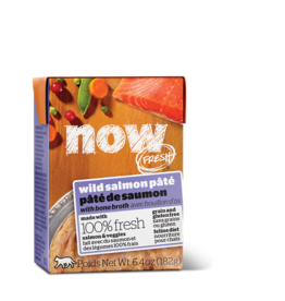 NOW NOW TetraPak Cat GF Wild Salmon Pate 6.4oz