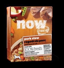 NOW NOW TetraPak Dog GF Pork Stew 12.5oz