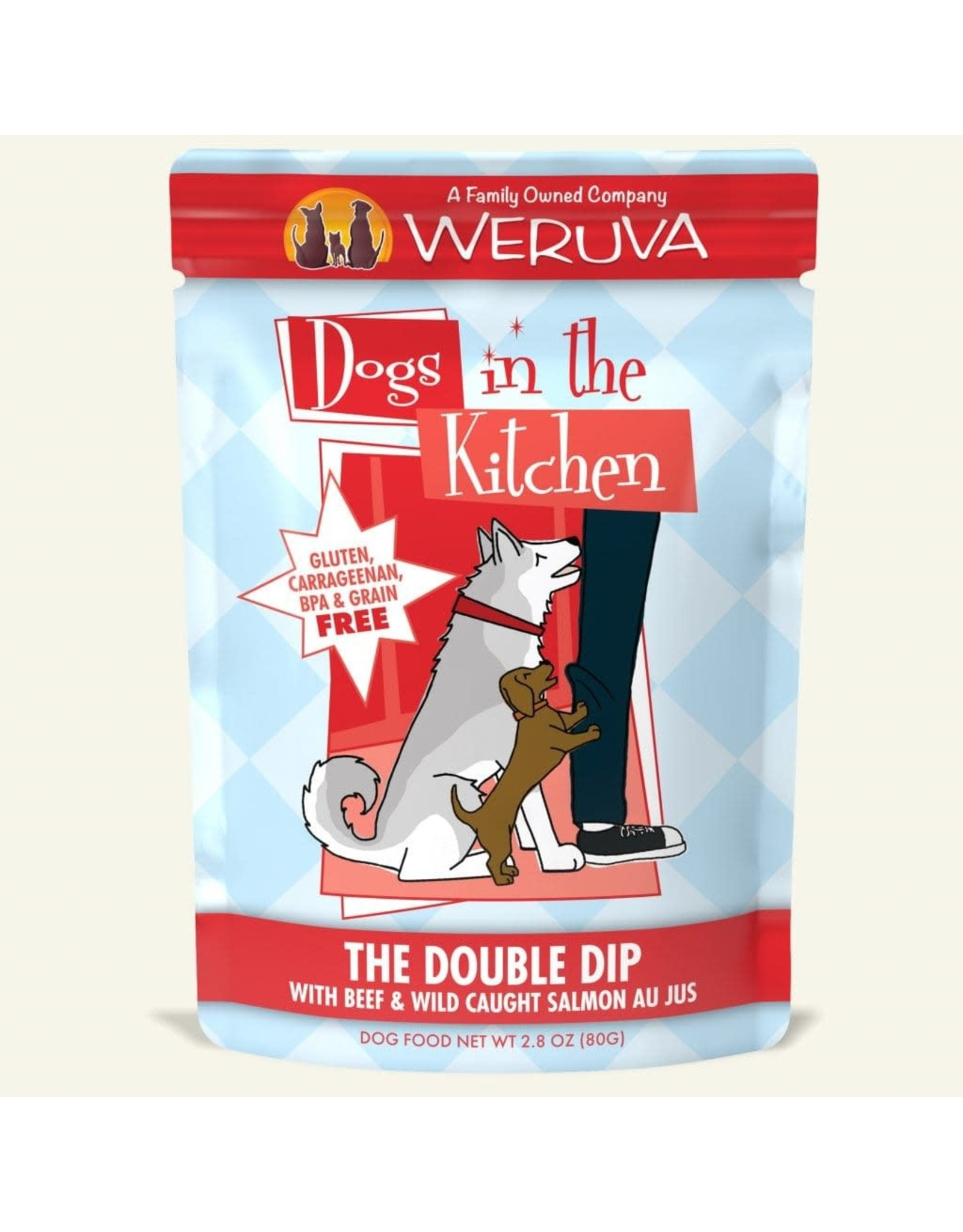 WERUVA Dogs in the KItchen - The Double Dip 2.8oz