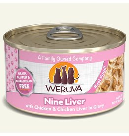 WERUVA WERUVA Cat Food - Nine Liver 3oz