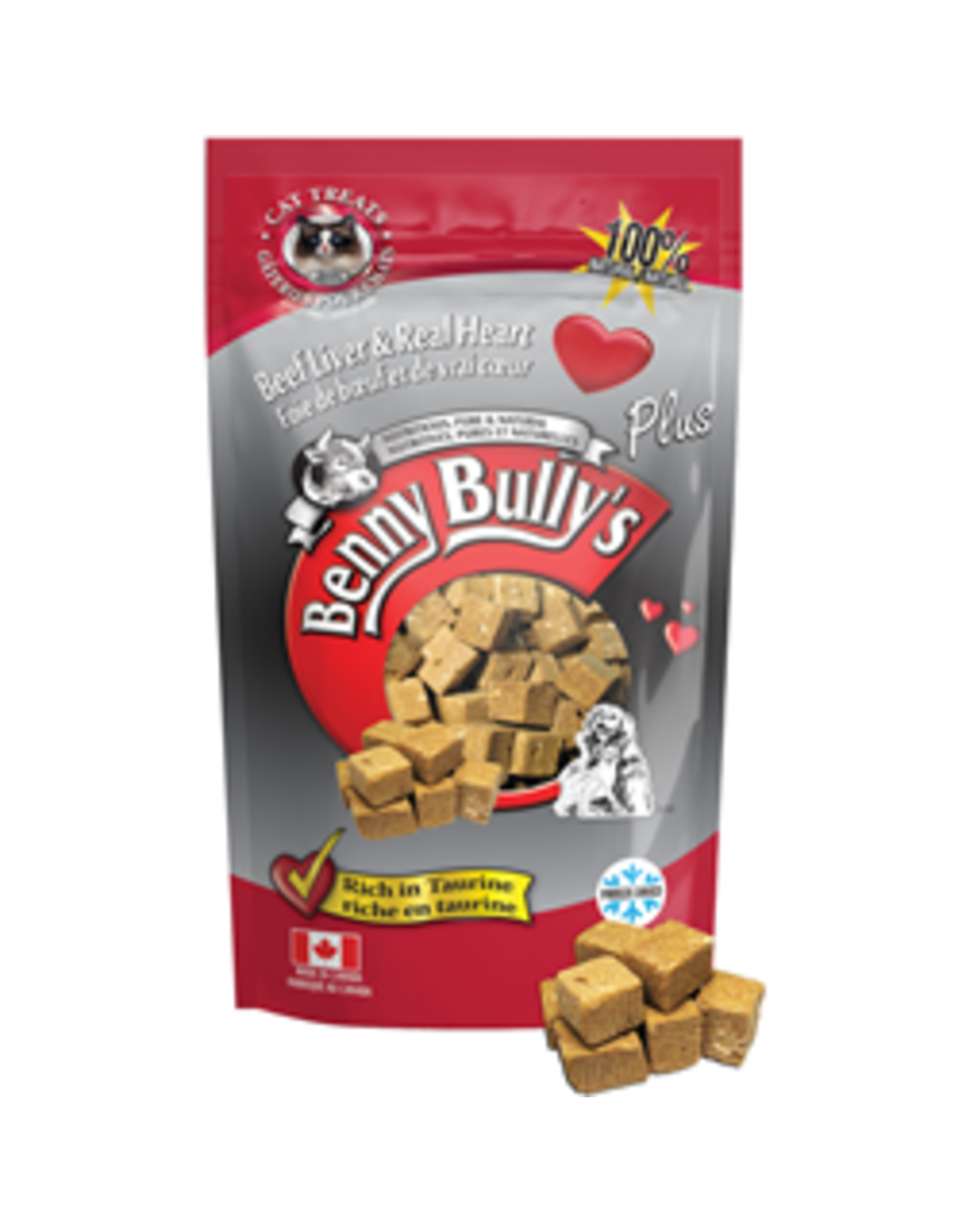 BENNY Bully BENNY Bully Plus Heart for cats 25g